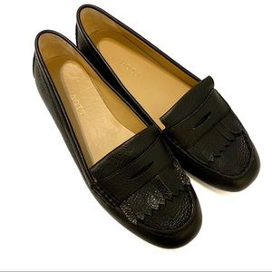 NEW Talbots | Black Leather Loafers